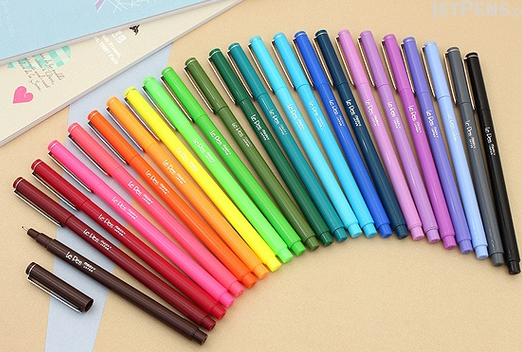 le pen planner pen review jet pens allaboutthehouse best planner pens rainbow color coding planner supplies