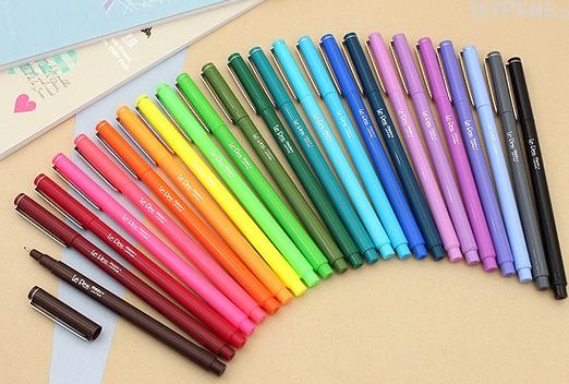 le pen planner pen review jet pens allaboutthehouse best planner pens rainbow color coding planner supplies