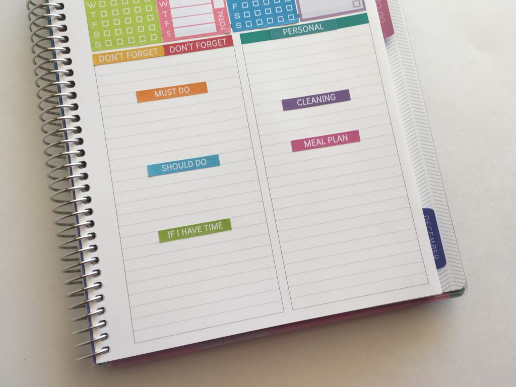 plum paper memory keepers book review using as a weekly planner minimalist planner ideas planning inspiration cheap diy planner accessories using empty notebook