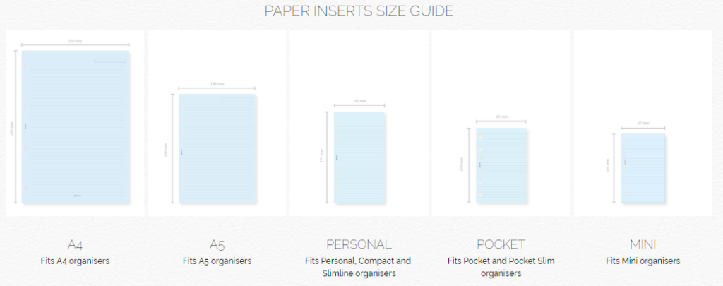 Ultimate planner page size guide (with printable reference ...