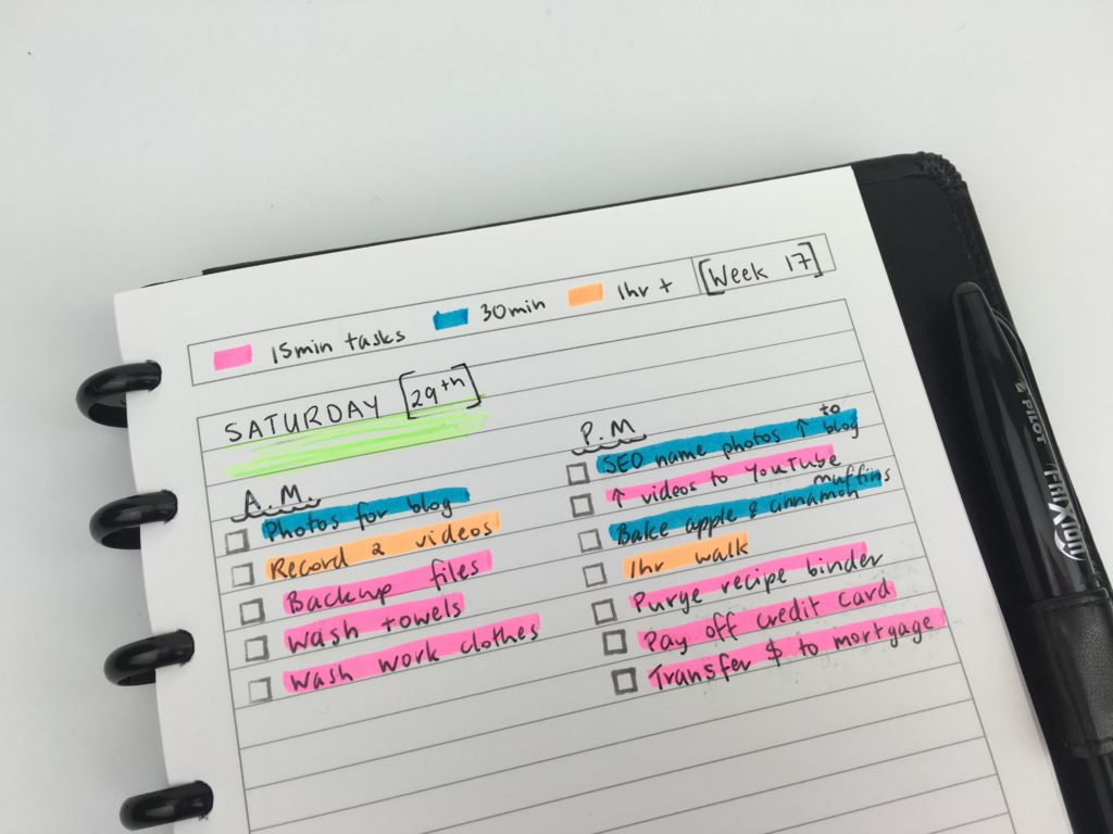 daily planning color coding ideas inspiration diy highlighter task list how to use a planner effectively tips arc notebook