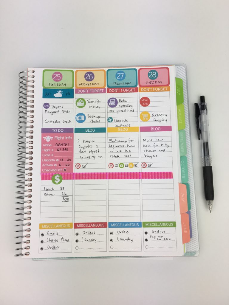 do erin condren life planner size stickers fit the plum paper vertical planner colorful weekly spread plan with me inspiration ideas vacation minimalist
