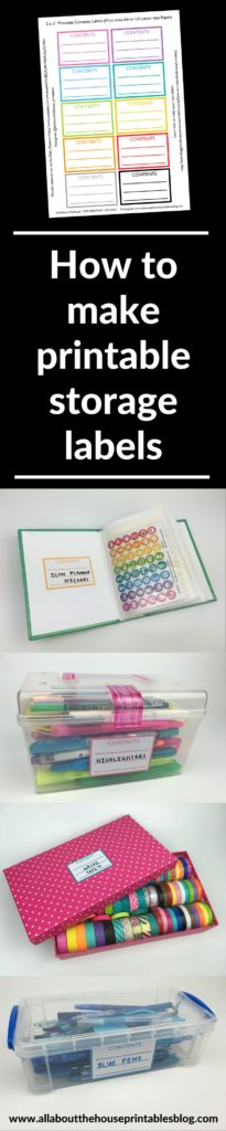 how to make printable storage labels in photoshop contents rainbow color coding pantry storage editable tutorial diy stationery