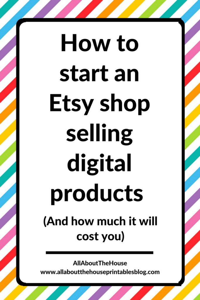 how to start an etsy shop selling digital products printable planner stickers how much does it cost graphic design tutorial time