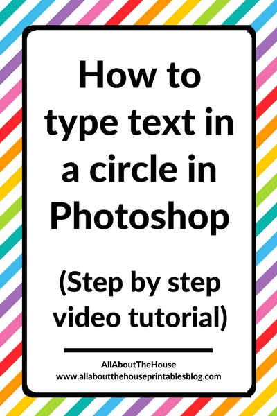 how to type in a circle in photoshop tutorial tips create circle text round keyboard shortcuts learn how to use photoshop begin