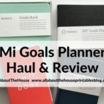 Mi Goals Planners Haul & Review (Planners made in Australia)