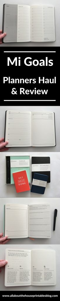 mi goals planners haul review planners made in australia goals productivity organization time management tasks minimalist simple