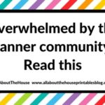 Overwhelmed by the planner community? Read this post
