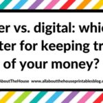 Pen and paper versus digital: which is better for keeping track of your money?