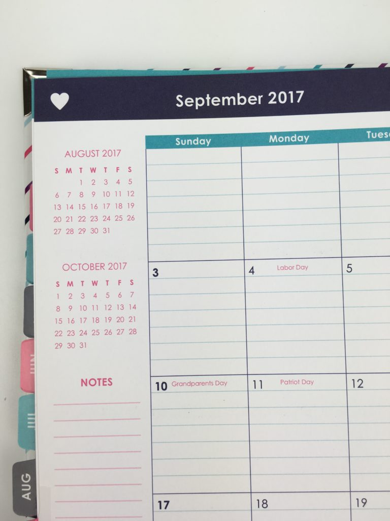 ashley shelly planner review 2017 montlly calendar lined us holidays pre printed sidebar colorful cheaper alternative ec
