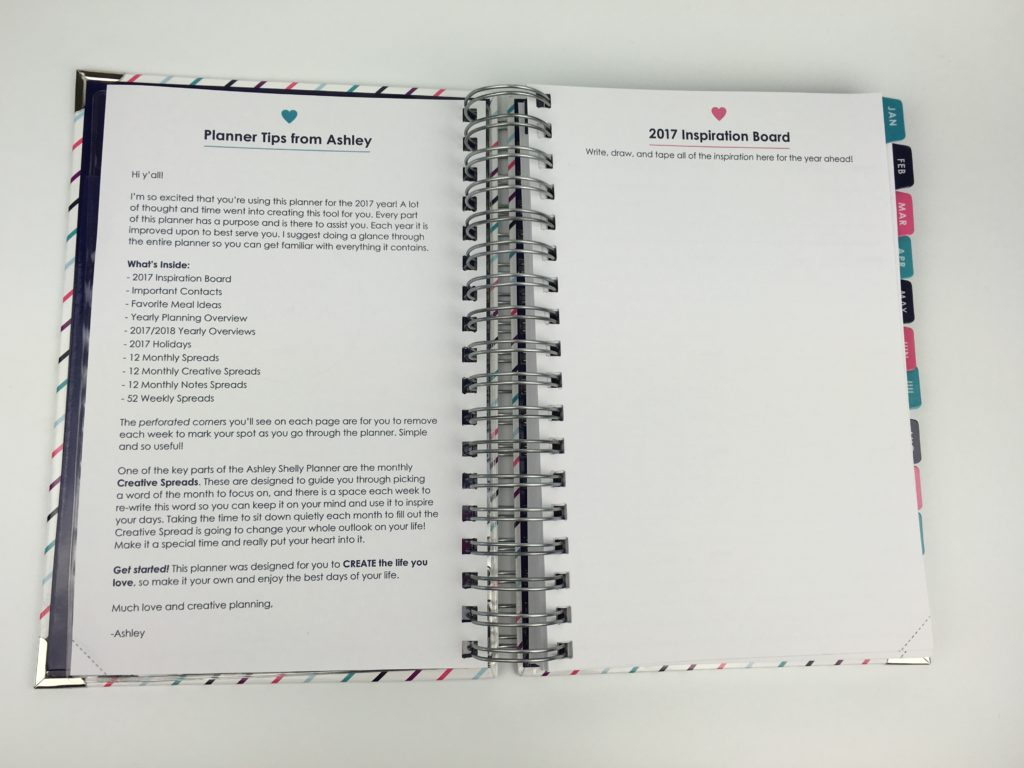 ashley shelly planner review haul medium size spiral bound horizontal 2 page weekly spread task to do list colorful simple functional worth it
