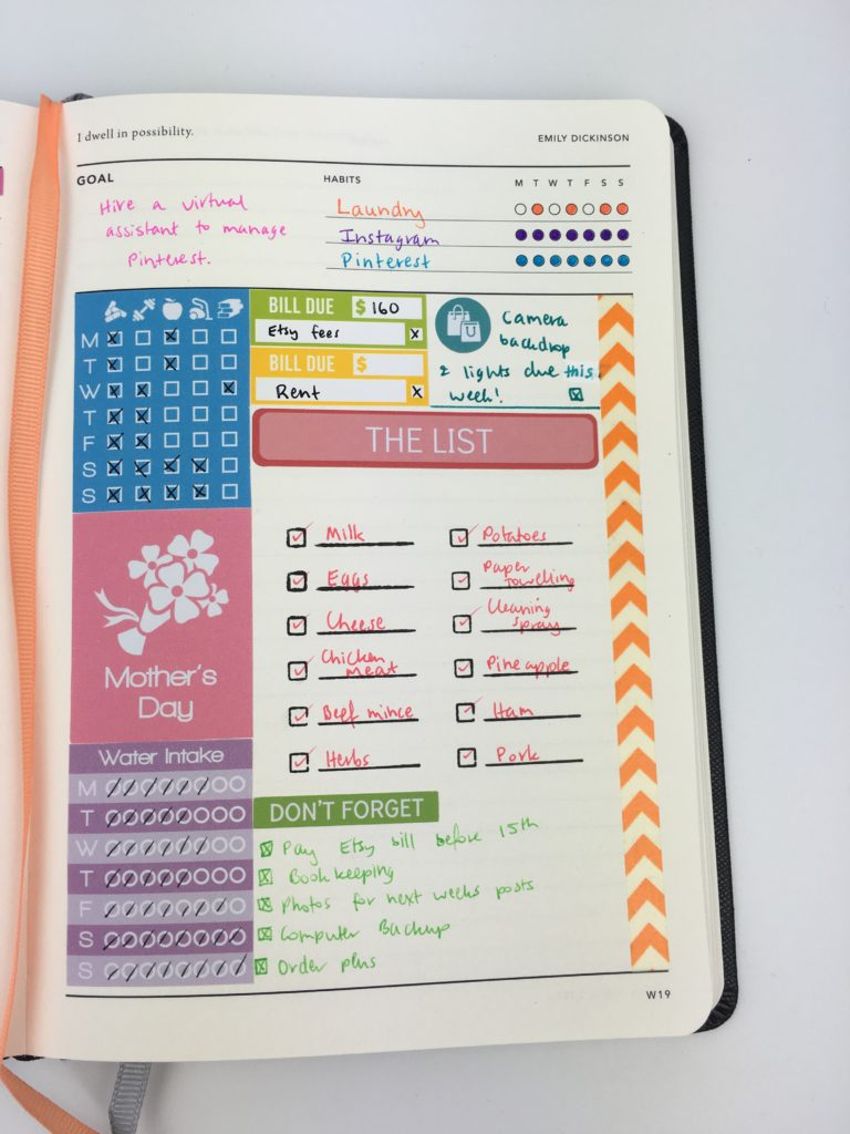 color coded weekly planner tips planner inspiration ideas inspo mi goals planner review australian planner company haul simple minimalist small