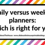 Daily versus weekly planners: which is right for you?