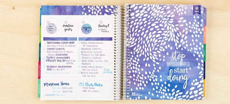 erin condren monthly notes page functional planner review erin condren versus plum paper happy planner comparison
