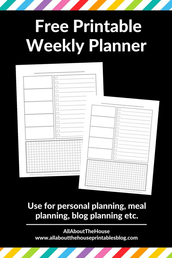 free printable weekly planner diy bullet journal inspiration ideas plan with me weekly spread a5 personal size tn insert inspo