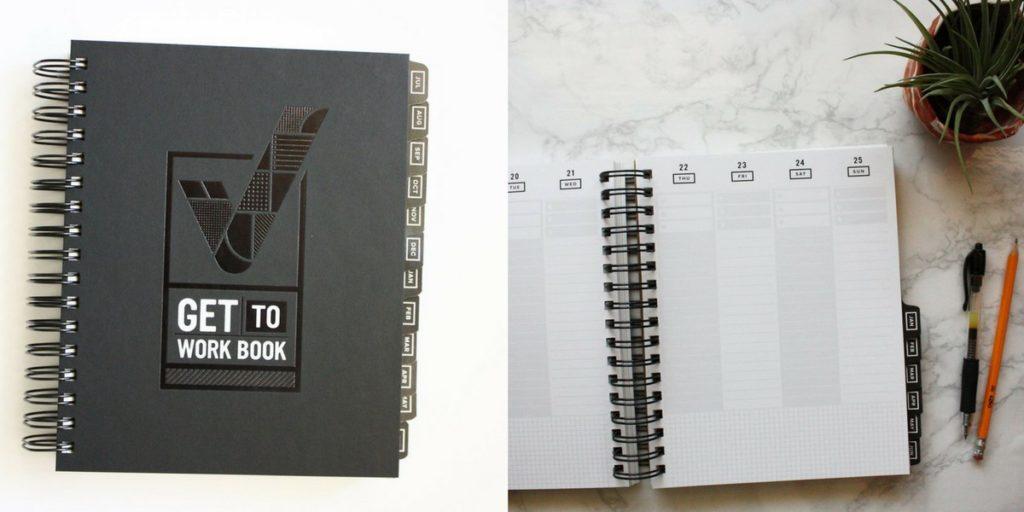 get to work workbook planner review planner roundup spiral vertical cheaper alternatives to erin condren