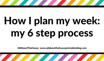 how i plan my week my 6 step process weekly planning plan with me time management productivity tips college student diy planner