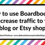How to use Boardbooster to increase traffic to your blog or Etsy shop (tutorial)