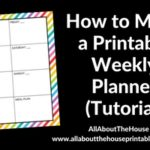 How to make a weekly planner in Photoshop (step by step tutorial)