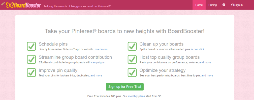 how to use boardbooster to grow blog traffic etsy shop online business blogging