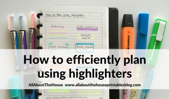 how to use highlighters for planning efficient planner method color coding supplies favorite best roundup bujo bullet journal