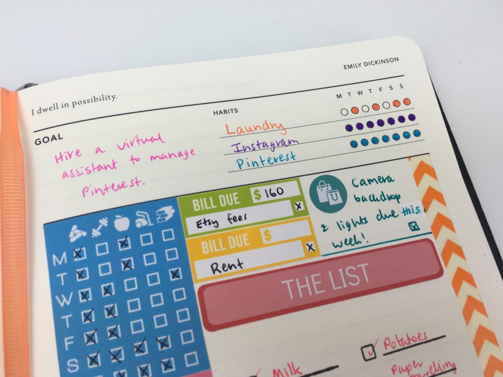 mi goals planner review haul planner inspiration australia planner company minimalist simple inspo diy color coding by day habit tracking plan with me