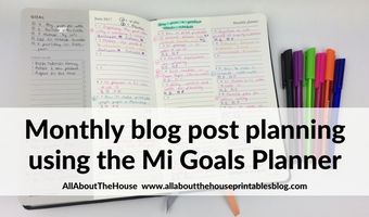 mi goals planner review monthy content planner blog post planning strategy ideas social media management roundup best planner