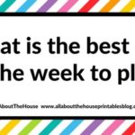 What is the best day of the week to plan?