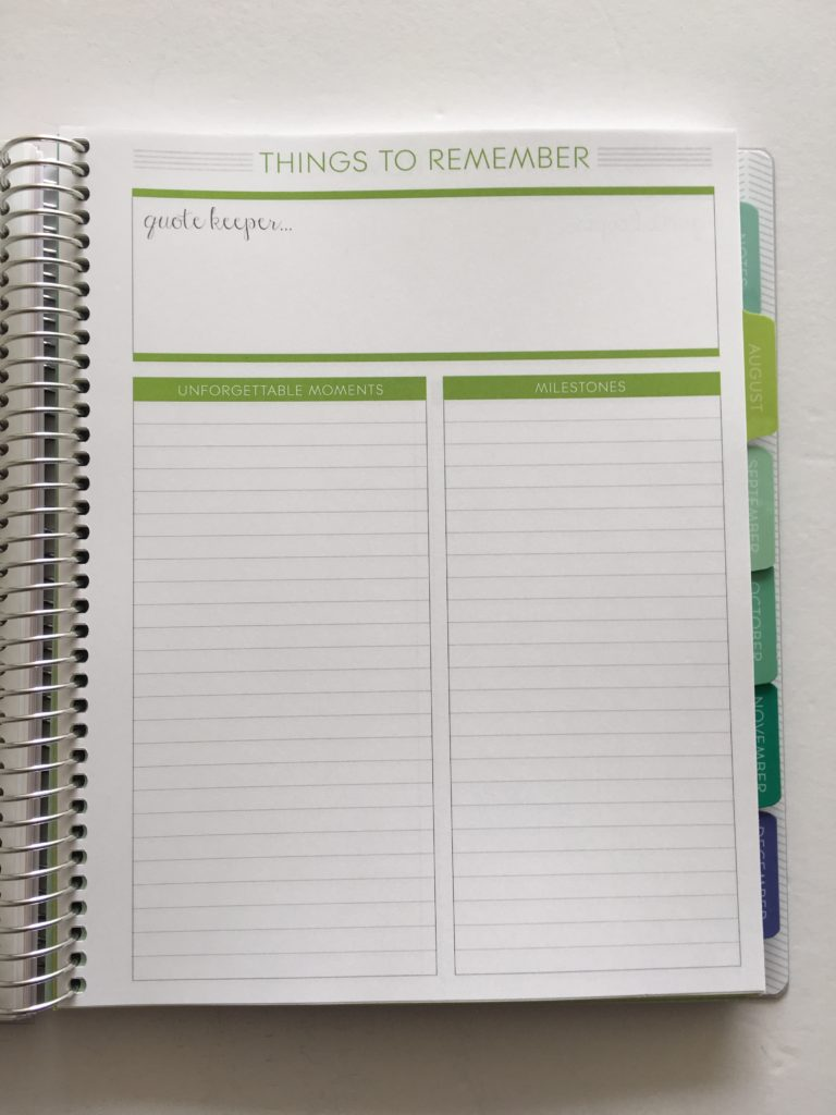 plum paper memory keeper notebook review honest cheaper alternative to erin condren list maker book simple planner spread layout ideas inspiration