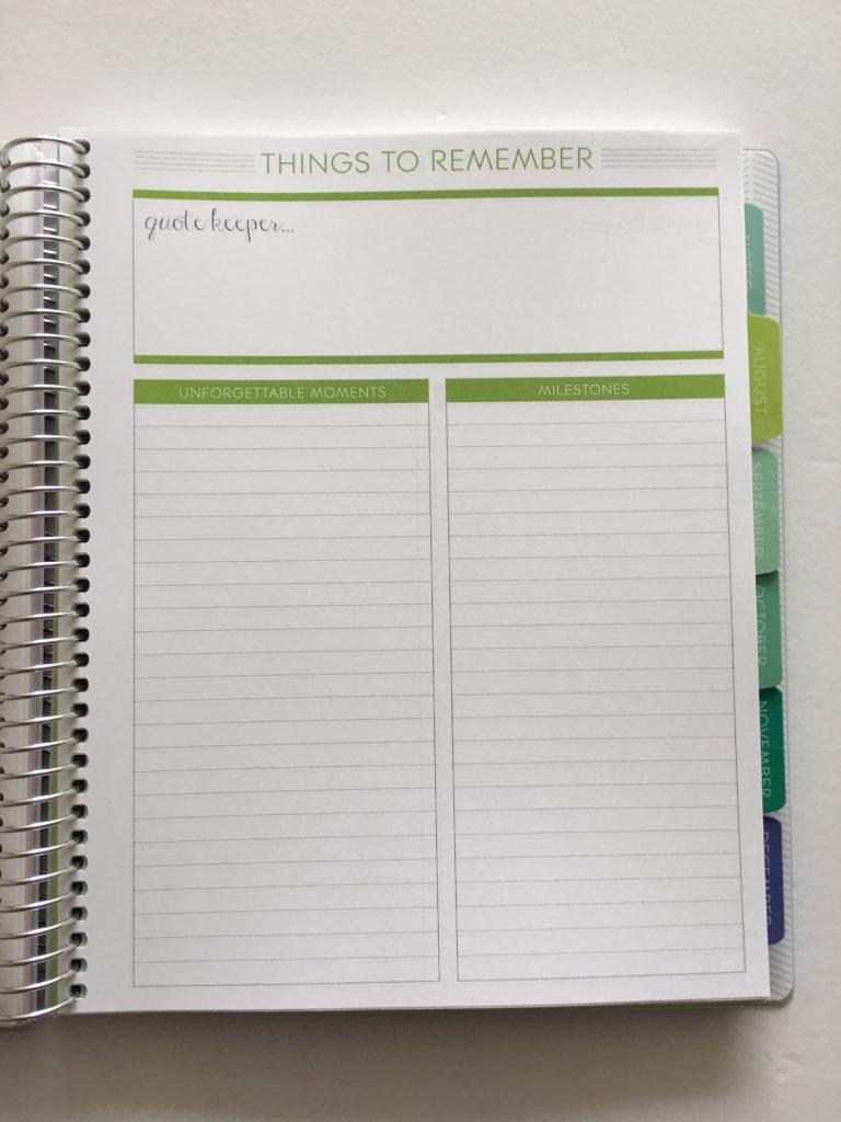 plum paper memory keeper notebook review honest cheaper alternative to erin condren list maker book simple planner spread layout ideas inspiration