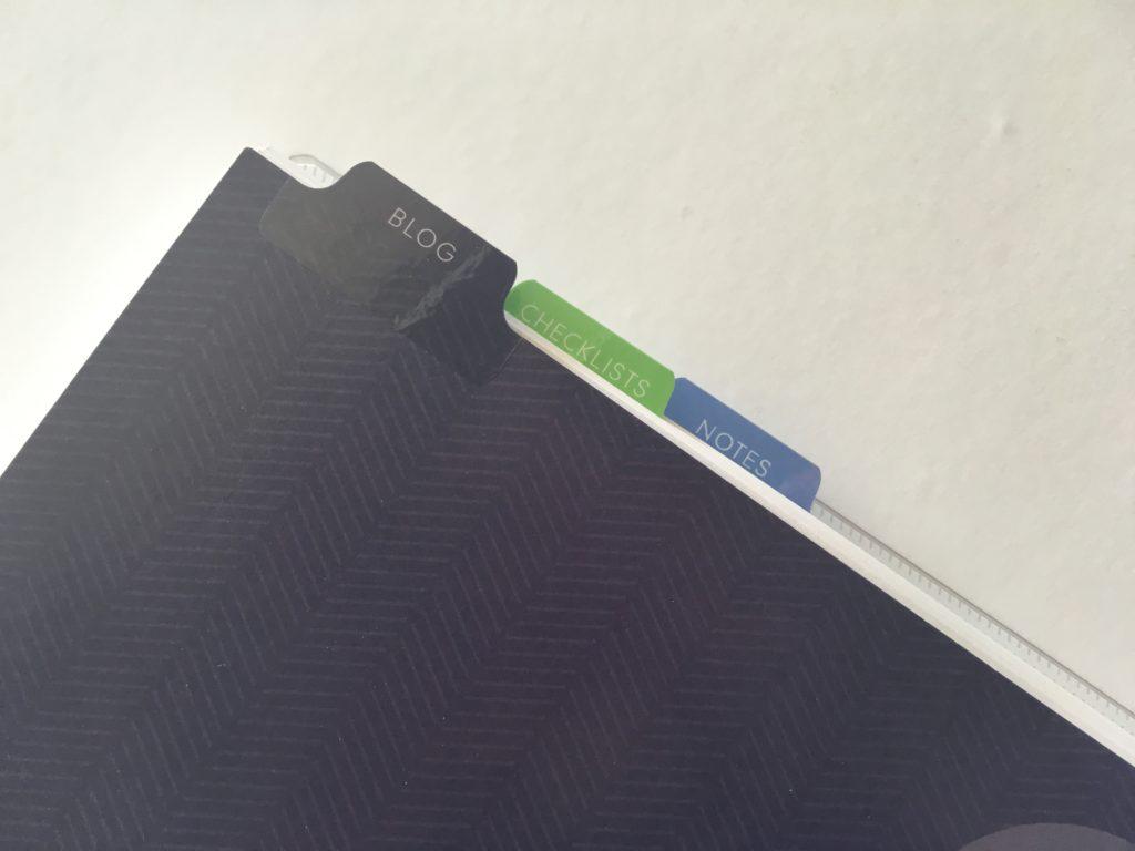 plum paper planner tabs review divider cheaper alternative to erin condren weekly planner blogging blog content calendar