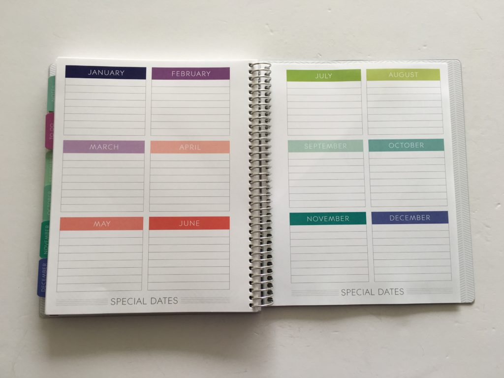 plum paper planner what to do with important dates annual planning pages color coding cheaper alternative to erin condren life planner diy