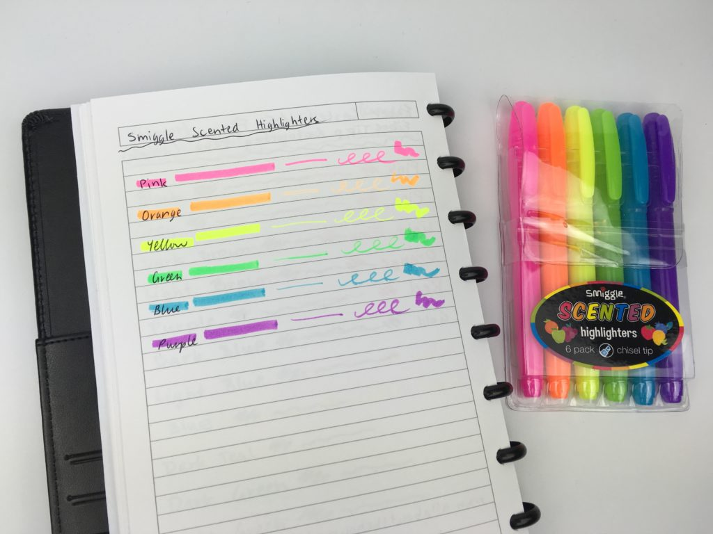 smiggle scented highlighters review bright color coding favorite places to buy stationery australia rainbow color coding supplies planning