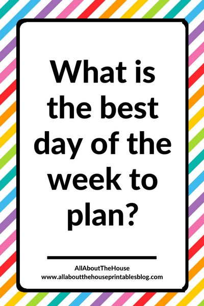 what is the best day of the week to plan how to plan your week process sunday monday time management productivity plan with me