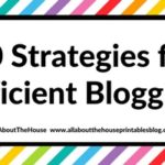 10 strategies for efficient blogging (that I use to post 5 times per week while working full time)
