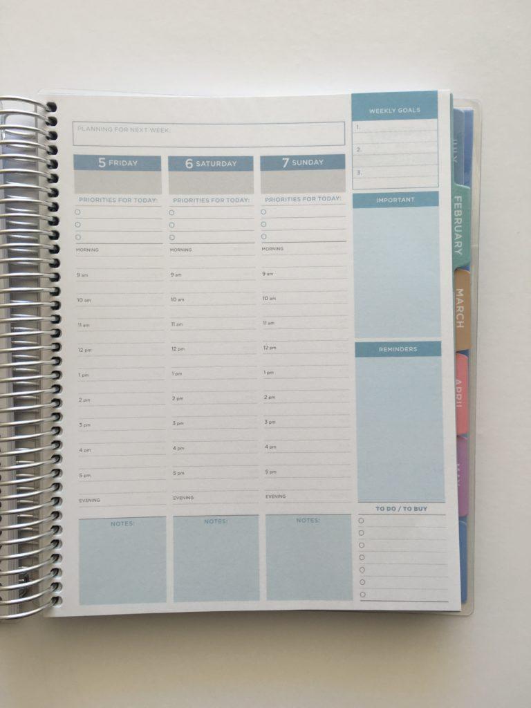 2018 business planner otto cheaper alternative to erin condren vertical minimalist similar plum paper