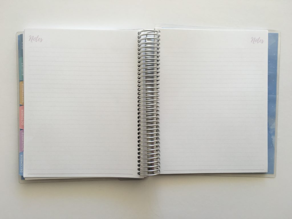 2018 business planner otto notes pages simple minimalist similar to erin condren life planner vertical hourly plum paper australia