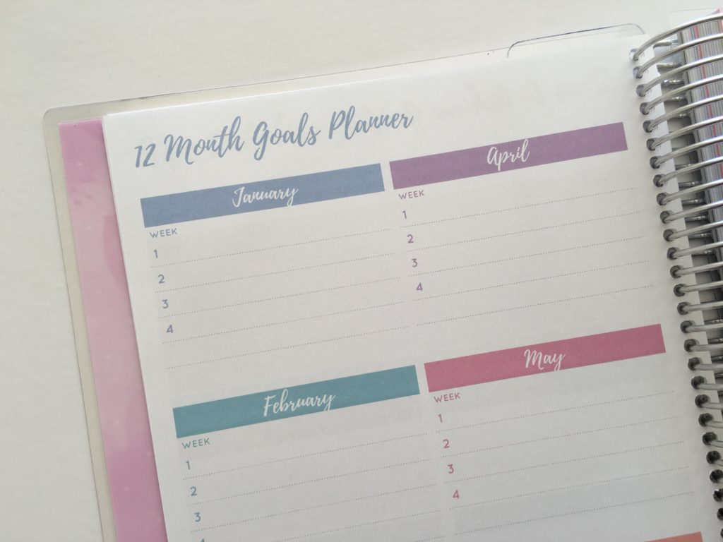 2018 otto goals planner review officeworks similar planner to erin condren flipthrough weekly spread calendar pros cons size comparison happy planner plum pape