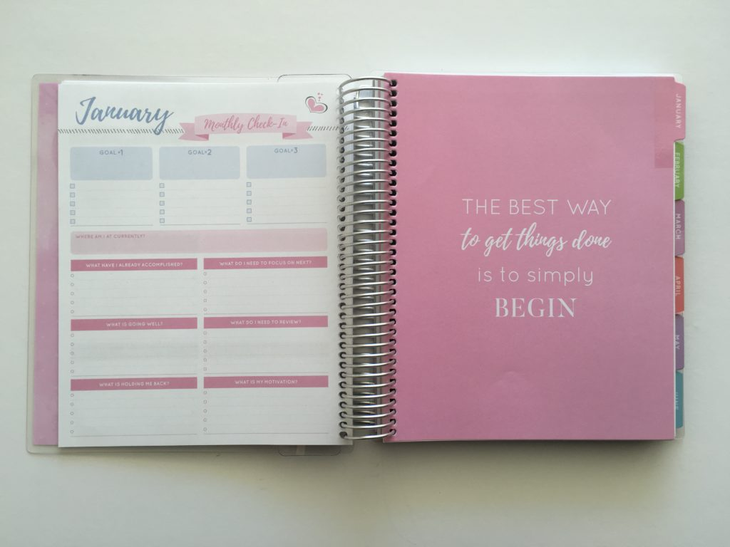 2018 otto goals planner review officeworks similar planner to erin condren life planner monthly planning calendar pros cons size comparison