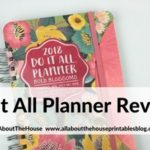 Review of the Do It All Weekly Planner by Orange Circle Studio
