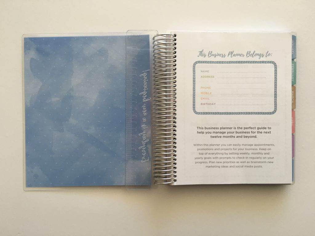 otto 2018 business planner blog organization vertical hourly goal setting affordable under 50 dollars australia