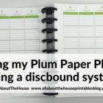 Arcing my Plum Paper Planner – everything you need to know if you'd like to try it yourself!