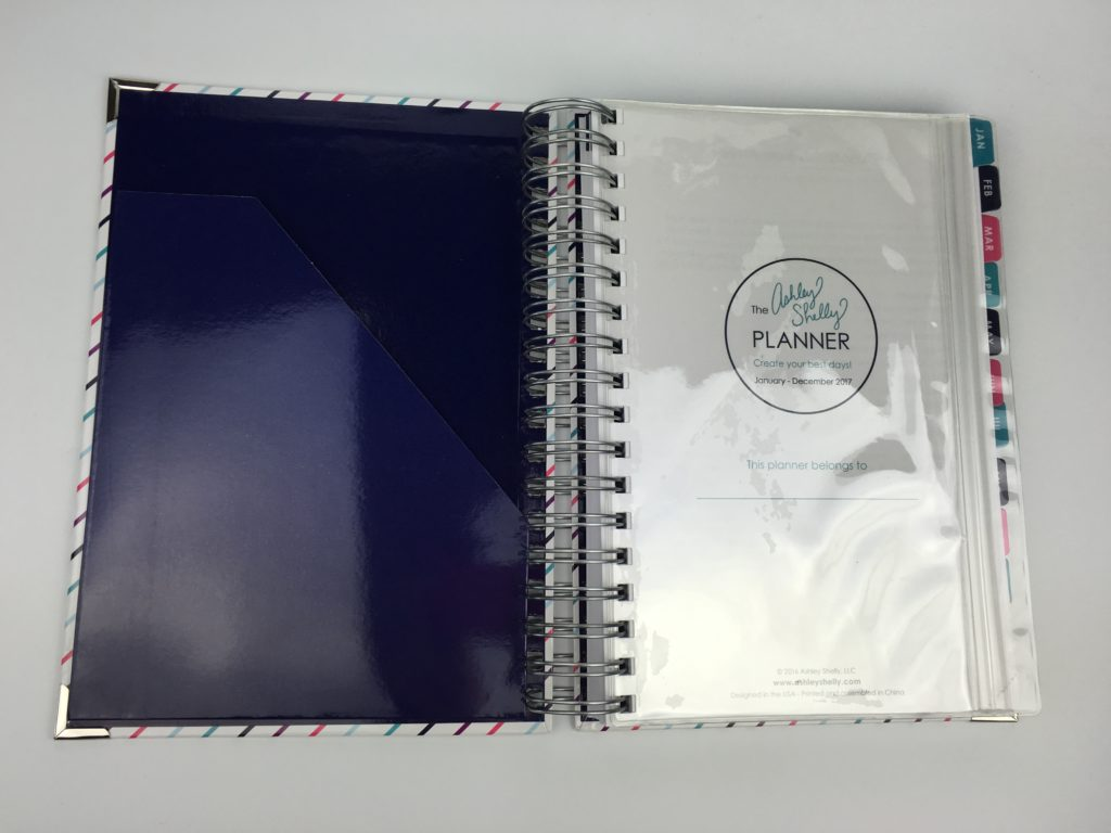 ashley shelly planner review haul medium size spiral bound horizontal 2 page weekly spread task to do list colorful simple functional