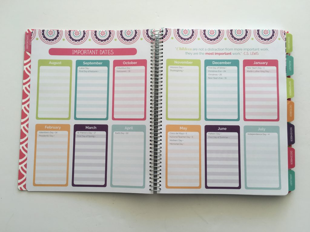 bloom teacher planner lesson planner attendance record seating chart review pros and cons similar to erin condren cheaper alternative undated colorful