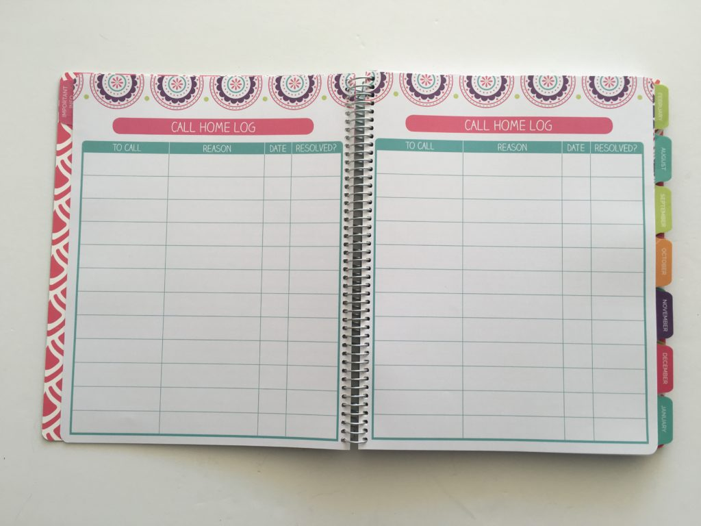 bloom teacher planner review cheaper alternative to erin condren lesson planner template undated school planner log template form