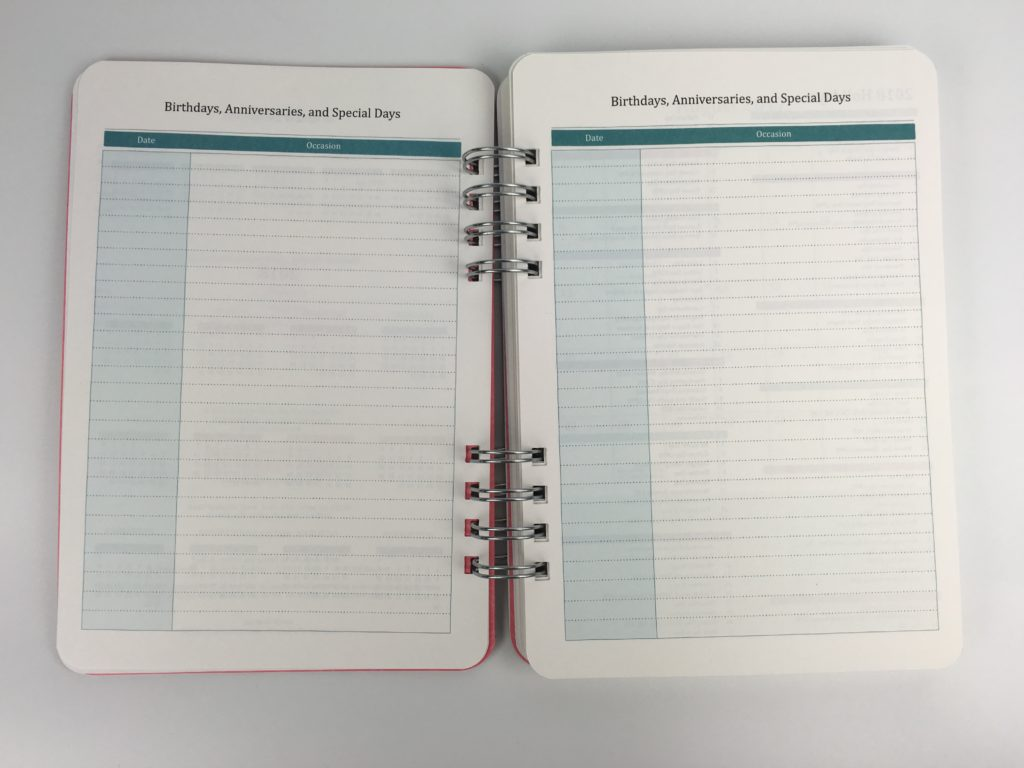 do it all planner by orange circle studio officeworks stationery haul birthdays list academic year planner for student college university