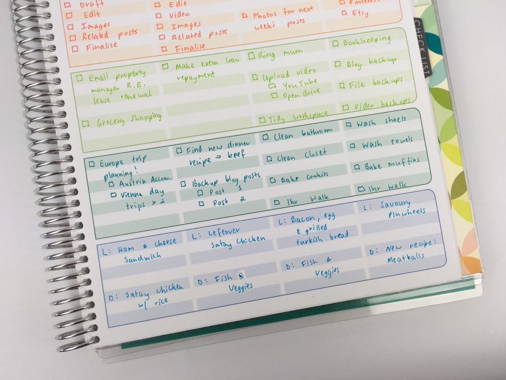 erin condren lesson planner as a blog planner color coding weekly task workflow haven't thought of