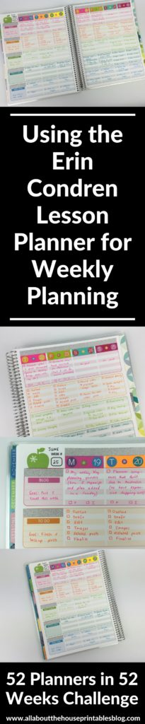erin condren teacher planner hack using for weekly planning color coding blog planner content editorial workflow ideas inspo