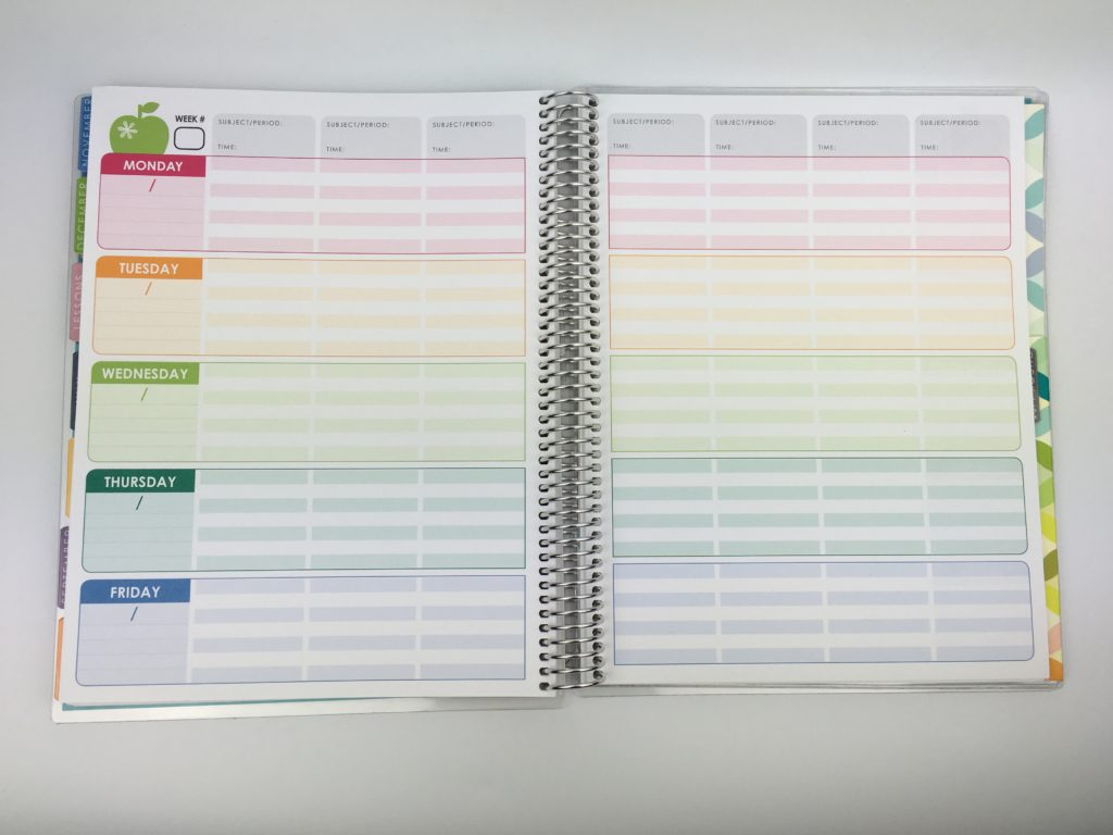 erin condren teacher planner review pros and cons convert to weekly planner