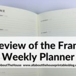 Frank Diary Planner Review – Horizontal Weekly Planner